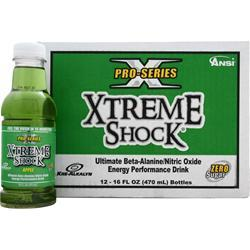 ANSI Xtreme Shock Ready to Drink Apple 12 bttls