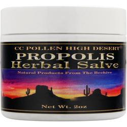 CC POLLEN High Desert Propolis Herbal Salve 2 oz