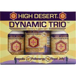CC POLLEN High Desert Dynamic Trio Vegetarian Capsules 3 bttls