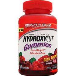 MUSCLETECH Hydroxycut Pro Clinical Gummies Mixed Fruit 60 gummy