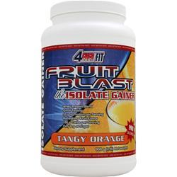 4 EVER FIT Fruit Blast the Isolate Gainer Tangy Orange 2 lbs
