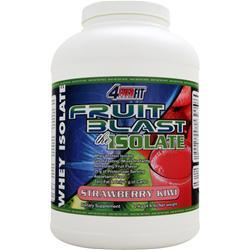 4 Ever Fit Fruit Blast the Isolate Strawberry Kiwi 4.4 lbs