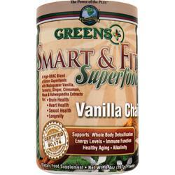 GREENS PLUS Smart & Fit Superfood Vanilla Chai 9.4 oz