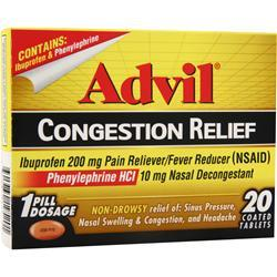 ADVIL Advil Congestion Relief 20 tabs