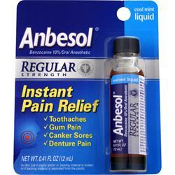 ANBESOL Regular Strength Cool Mint .41 fl.oz