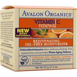 AVALON ORGANICS Vitamin C Sun-Aging Defense Rejuvenating Oil-Free Moisturizer 2 fl.oz