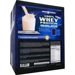 BODYSTRONG 100% Whey Protein Isolate - Natural Unflavored 10 lbs