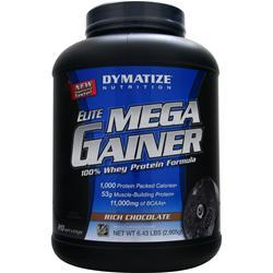 DYMATIZE NUTRITION Mega Gainer Rich Chocolate 6.43 lbs