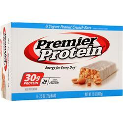 PREMIER NUTRITION Premier Protein Bar Yogurt Peanut Crunch 6 bars
