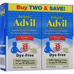 Advil Infants' Advil White Grape Twin Pack 1 fl.oz
