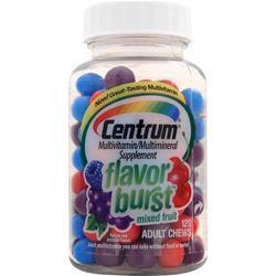 Centrum Flavor Burst Adult Chews Mixed Fruit 120 chews