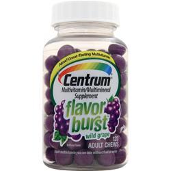 CENTRUM Flavor Burst Adult Chews Grape 120 chews