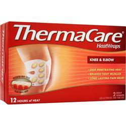 THERMACARE HeatWraps - Knee & Elbow 2 wraps