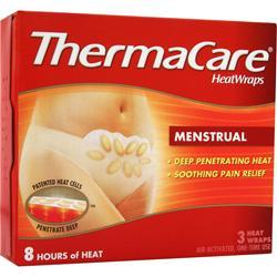 Thermacare HeatWraps - Menstrual 3 wraps