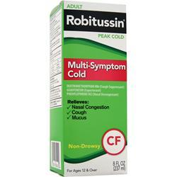 ROBITUSSIN Peak Cold - Multi Symptom Cold 8 fl.oz