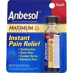 Anbesol Maximum Strength .41 fl.oz