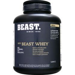 BEAST SPORTS NUTRITION 100% Beast Whey Vanilla 5.16 lbs