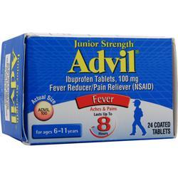 ADVIL Junior Strength Advil Best by 8/14 24 tabs
