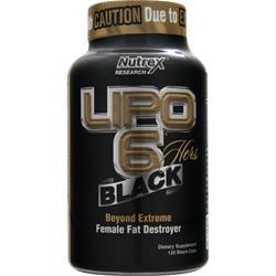 NUTREX RESEARCH Lipo-6 Black Hers 120 caps