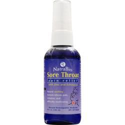 NATRABIO Sore Throat - Pain Relief 4 fl.oz