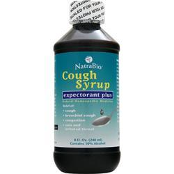 Natrabio Cough Syrup - Expectorant Plus 8 fl.oz