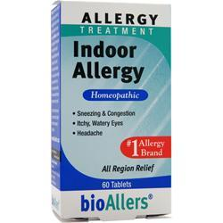 BIOALLERS Allergy Treatment - Indoor Allergy 60 tabs
