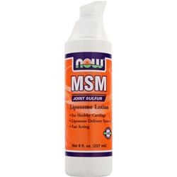NOW MSM Liposome Lotion 8 fl.oz