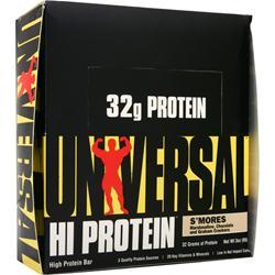 UNIVERSAL NUTRITION HI Protein Bar S'mores 16 bars
