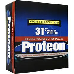 UNIVERSAL NUTRITION Proteon High Protein Bar Double PB Deluxe 12 bars