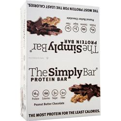 The Simply Bar The Simply Bar Peanut Butter Chocolate 15 bars