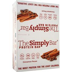 THE SIMPLY BAR The Simply Bar Cinnamon Pecan 15 bars