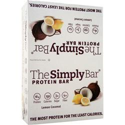THE SIMPLY BAR The Simply Bar Lemon Coconut 15 bars