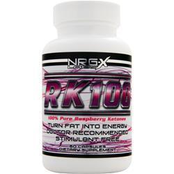 NRG-X Labs RK 100 - 100% Pure Raspberry Ketones 60 caps