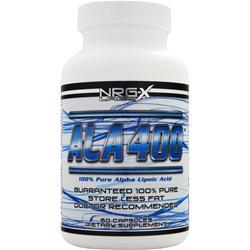 NRG-X LABS ALA 400 - 100% Pure Alpha Lipoic Acid 60 caps