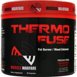 MUSCLE WARFARE Thermo Fuse - Fat Burner/Mood Enhancer 90 caps