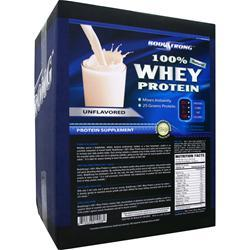 BODYSTRONG 100% Whey Protein - Natural Unflavored 10 lbs