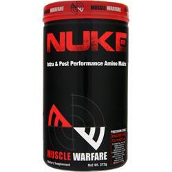 MUSCLE WARFARE Nuke - Intra & Post Performance Amino Matrix Grape Splash 373 grams