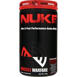 MUSCLE WARFARE Nuke - Intra & Post Performance Amino Matrix Watermelon 378 grams