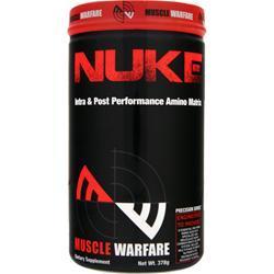 Muscle Warfare Nuke - Intra & Post Performance Amino Matrix Watermelon 378 grams