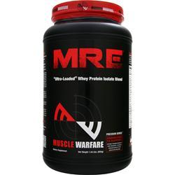 MUSCLE WARFARE MRE - Ultra Loaded Whey Protein Isolate Blend Vanilla 655 gr