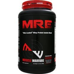 MUSCLE WARFARE MRE - Ultra Loaded Whey Protein Isolate Blend Strawberry 655 grams