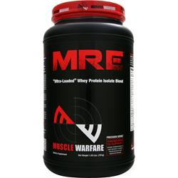Muscle Warfare MRE - Ultra Loaded Whey Protein Isolate Blend Milk Chocolate 701 grams