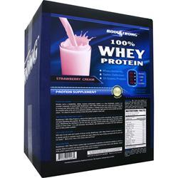 BodyStrong 100% Whey Protein Strawberry Cream 10 lbs