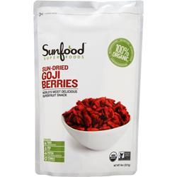 SUNFOOD Sun-Dried Goji Berries 8 oz