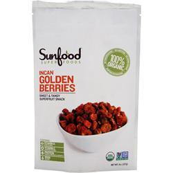 SUNFOOD Incan Golden Berries 8 oz