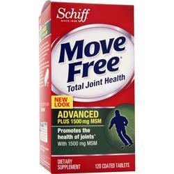 SCHIFF Move Free Total Joint Health - Advanced Plus 1500 Mg MSM 120 tabs