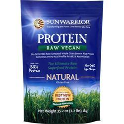 SUNWARRIOR Classic Protein - Raw Vegan Natural 1 kg