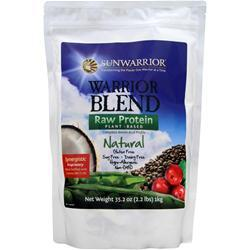 SUNWARRIOR Warrior Blend - Raw Protein Natural 1 kg