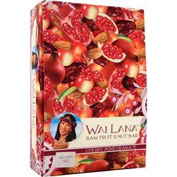 WAI LANA Raw Fruit & Nut Bar Cherry Pomegranate 12 bars