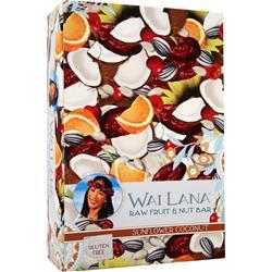 WAI LANA Raw Fruit & Nut Bar Sunflower Coconut 12 bars